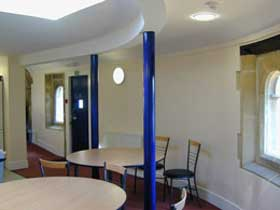 Staff room seating