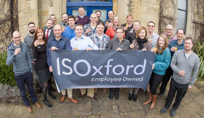 IS Oxford staff June 2003